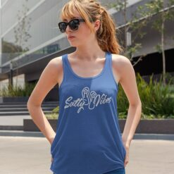 flip flop tank women royal